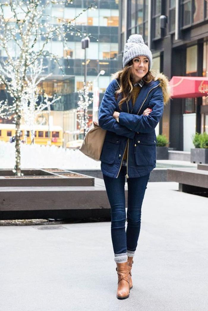 С чем носят женские парки? Модные луки сезона 2018-2019