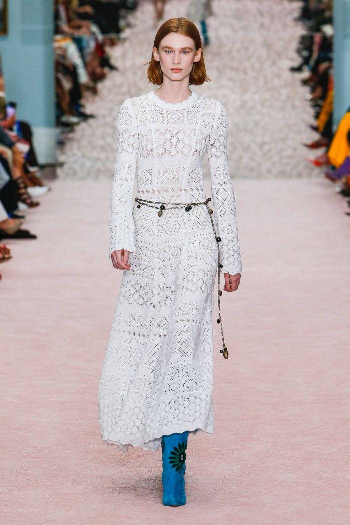 Модное платье 2019 весна-лето Carolina Herrera