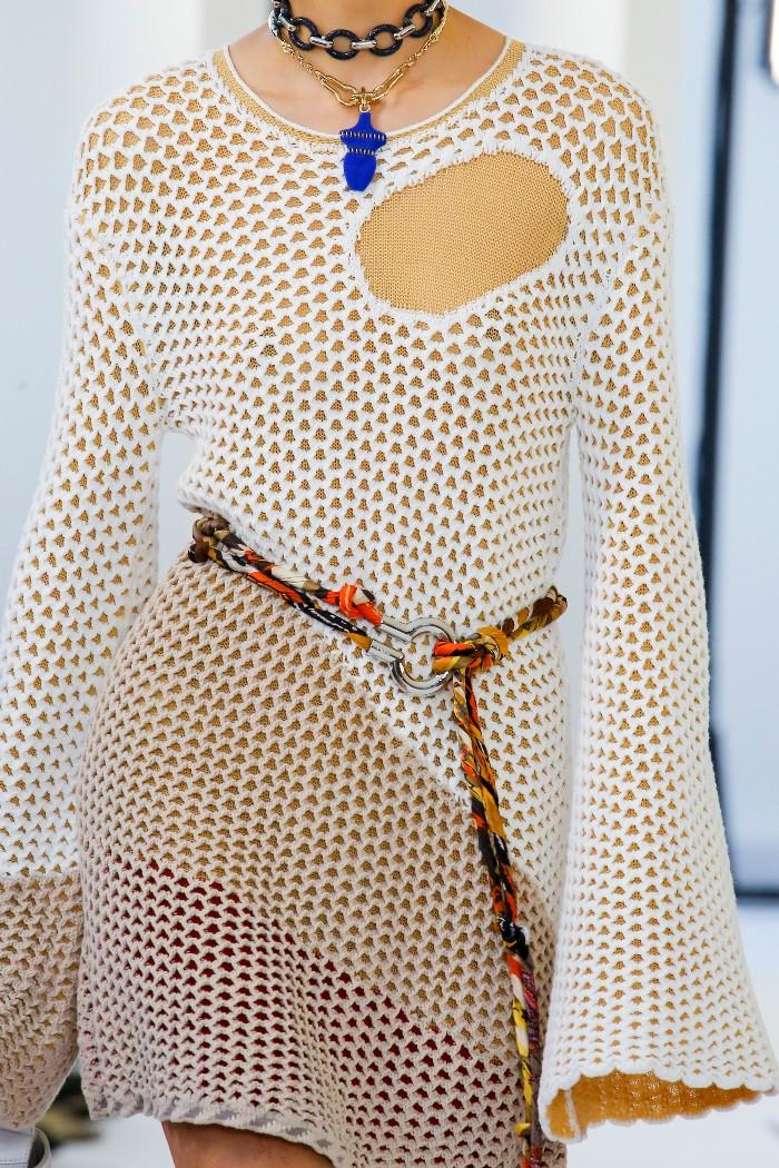 Модное платье 2019 весна-лето Chloé