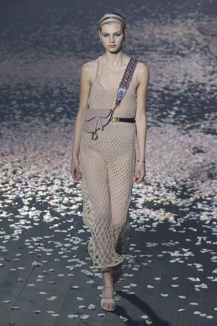Модное платье 2019 весна-лето Christian Dior