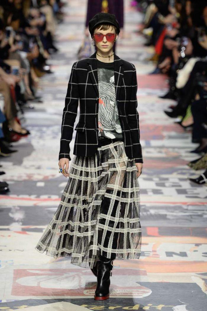 Юбка из фатина Christian Dior