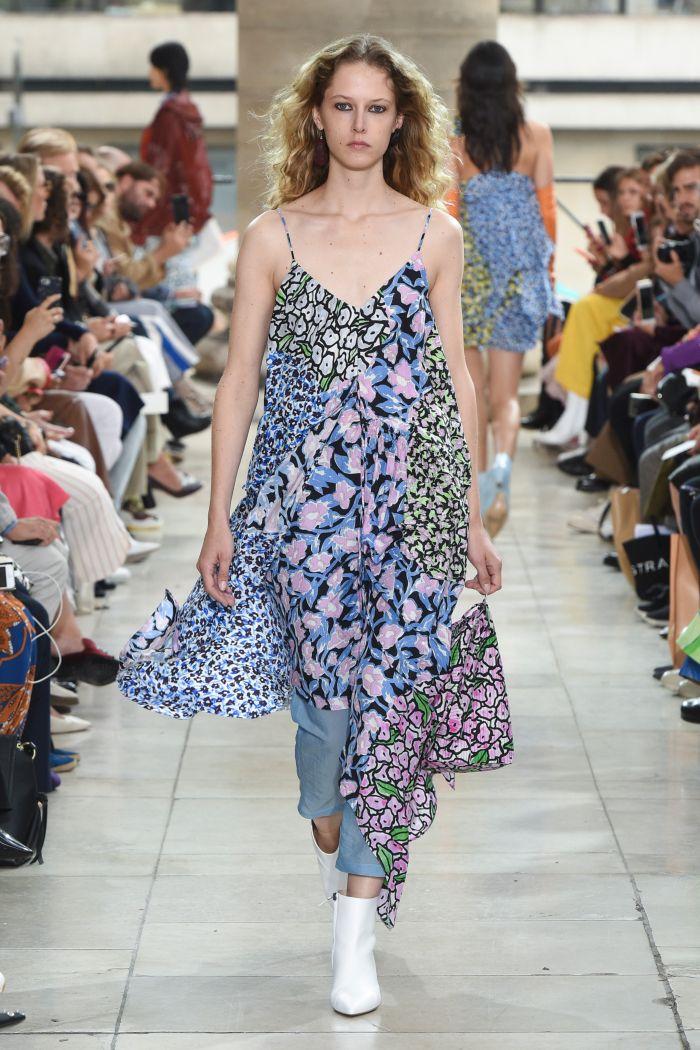Модное платье 2019 весна-лето Christian Wijnants