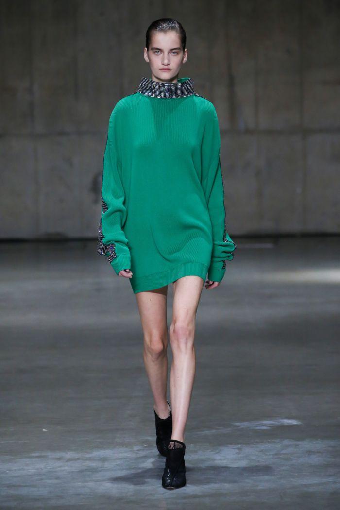 Модное платье 2019 весна-лето Christopher Kane