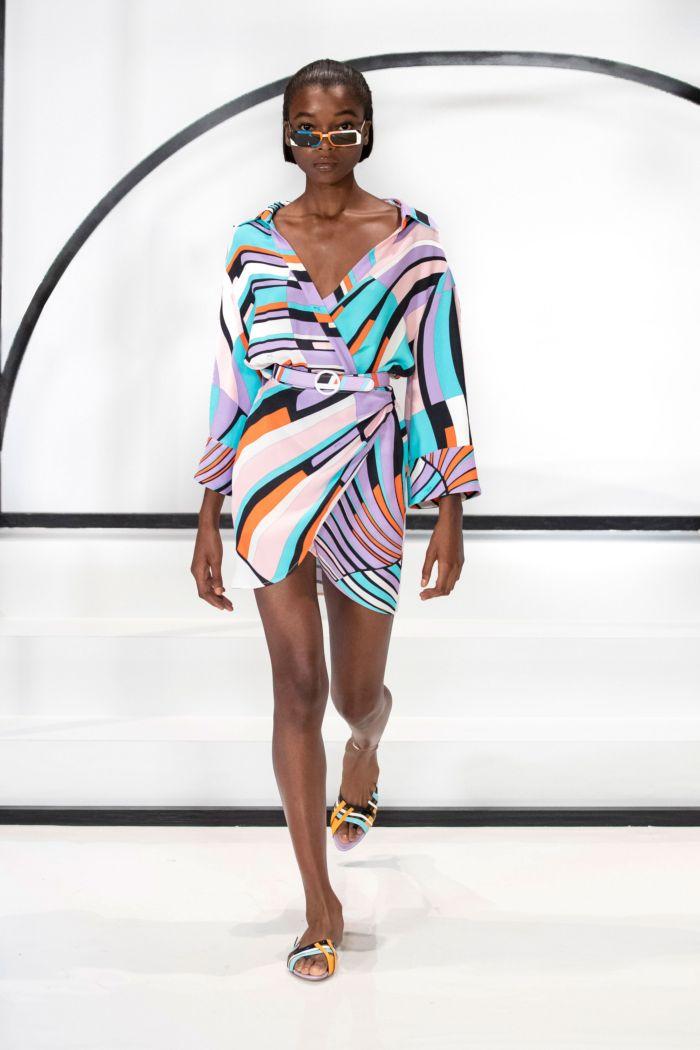 Модное платье 2019 весна-лето Emilio Pucci