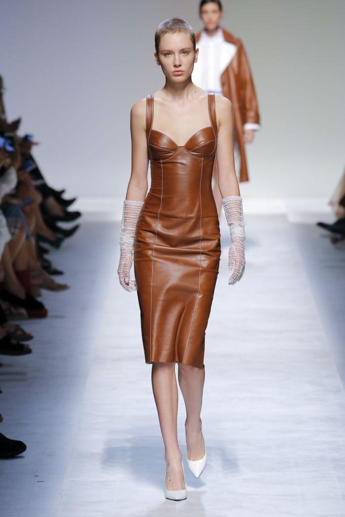 Модное платье 2019 весна-лето Ermanno Scervino