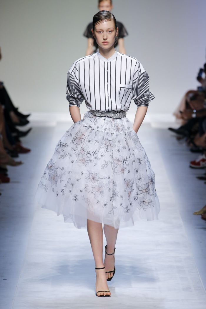 юбка из фатина Ermanno Scervino