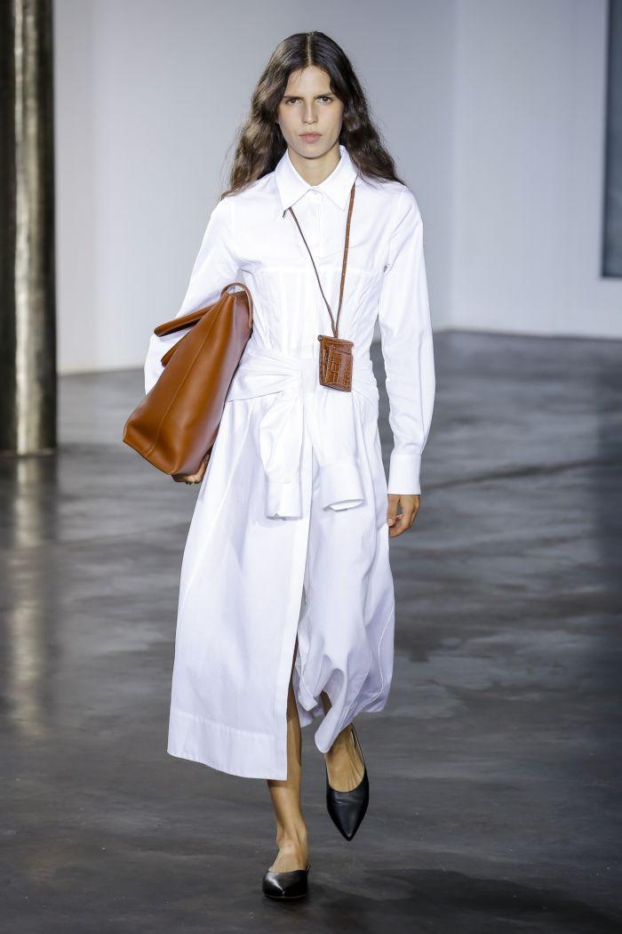 Модное платье 2019 весна-лето Gabriela Hearst