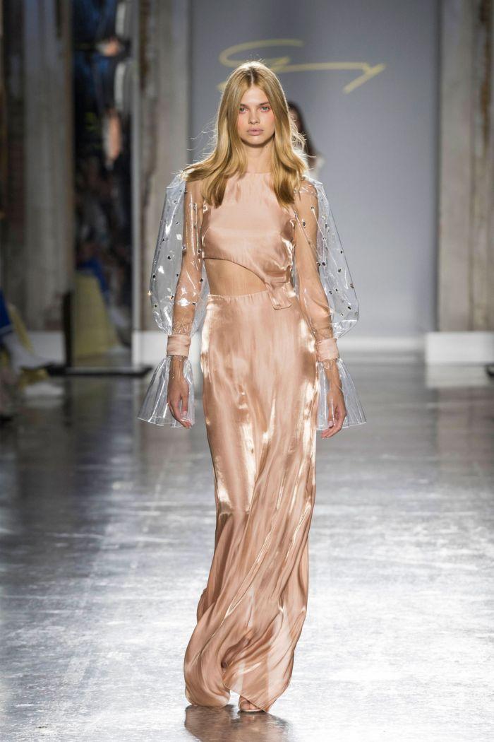 Модное платье 2019 весна-лето Genny