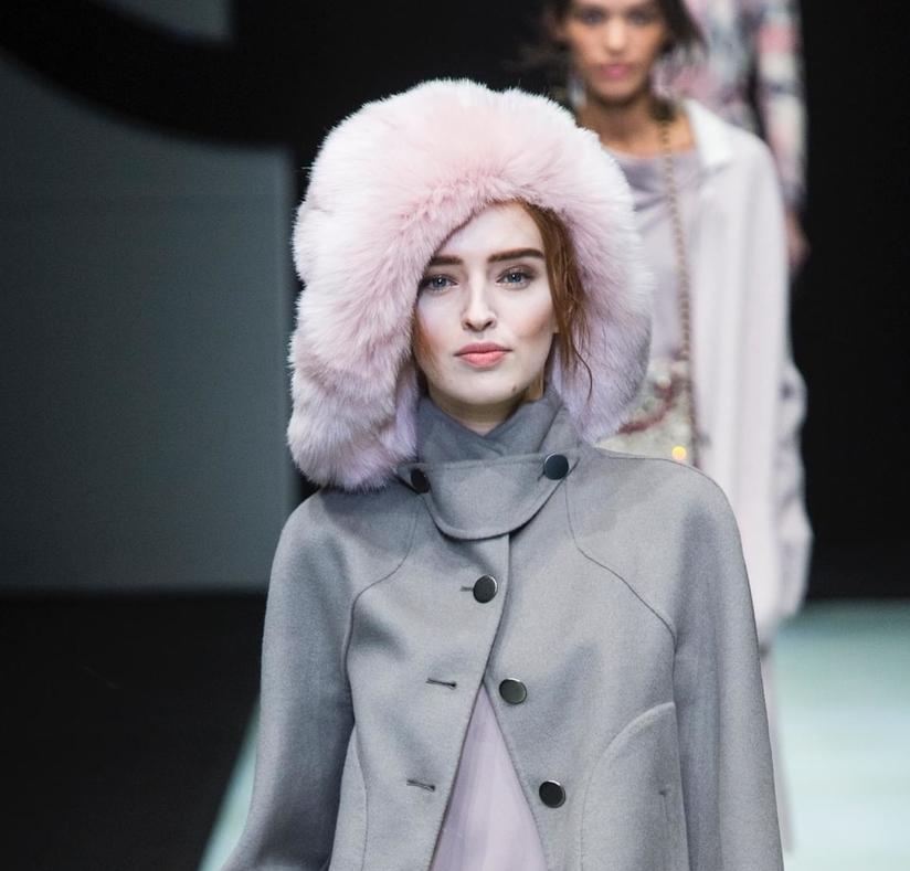 Модные шапки 2019 года. Giorgio Armani