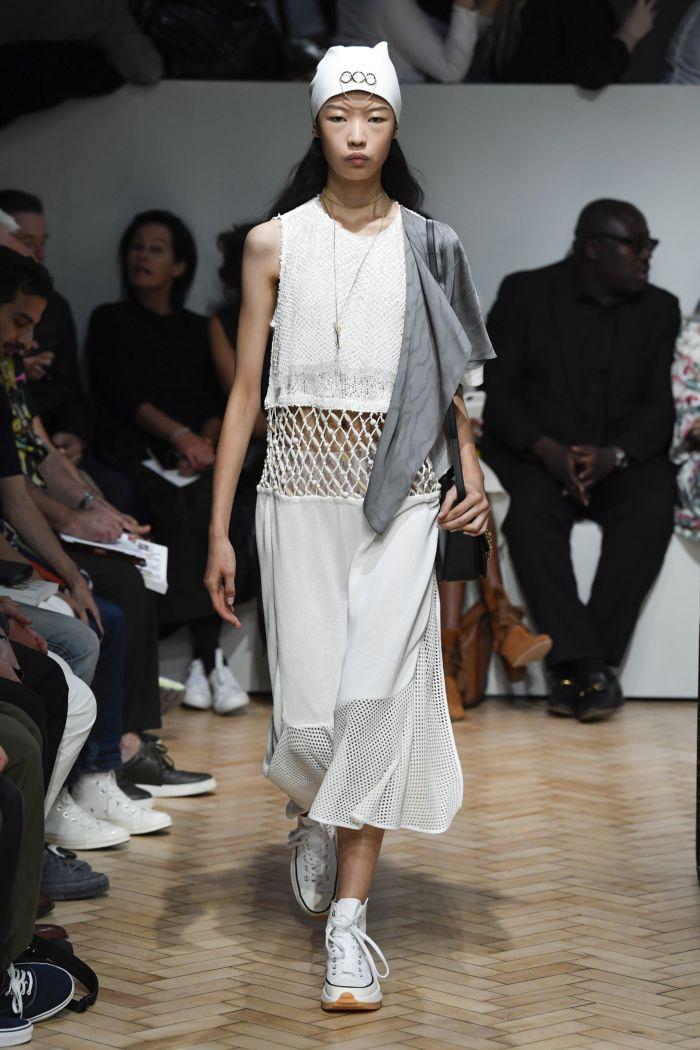 Модное платье 2019 весна-лето JW Anderson