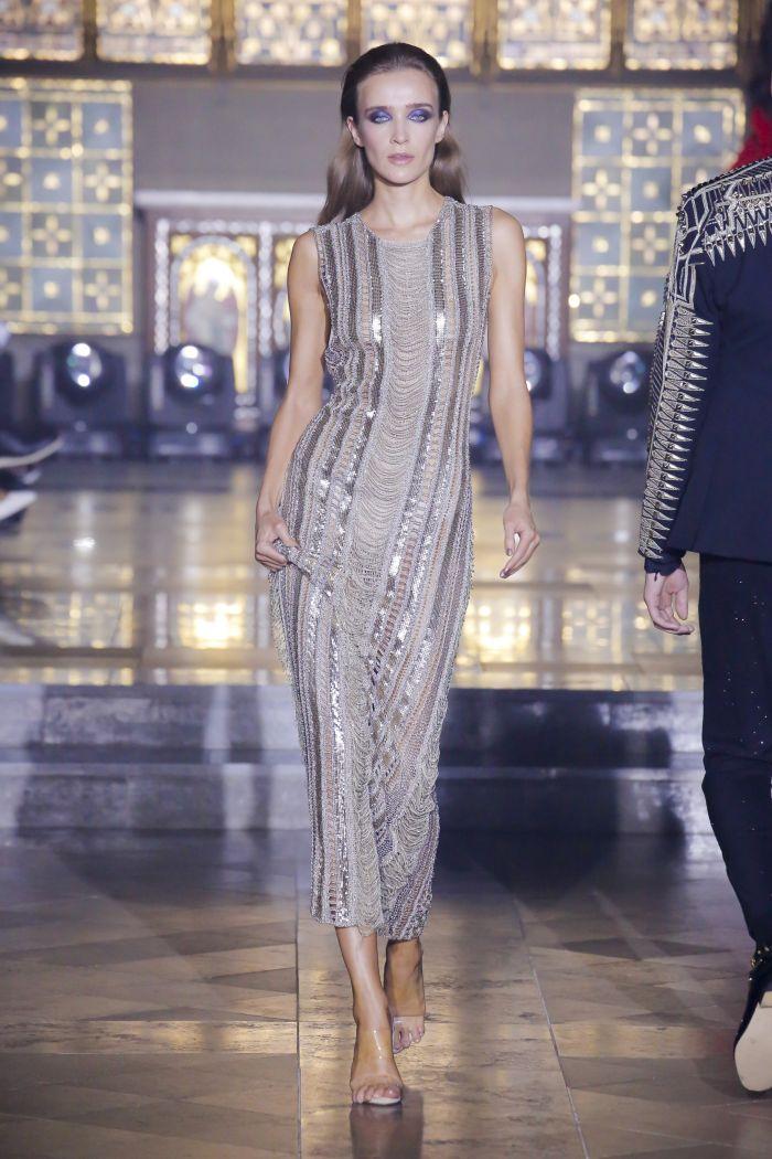 Модное платье 2019 весна-лето Julien Macdonald