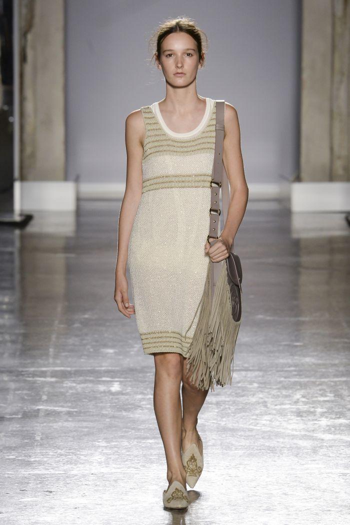 Модное платье 2019 весна-лето Les Copains