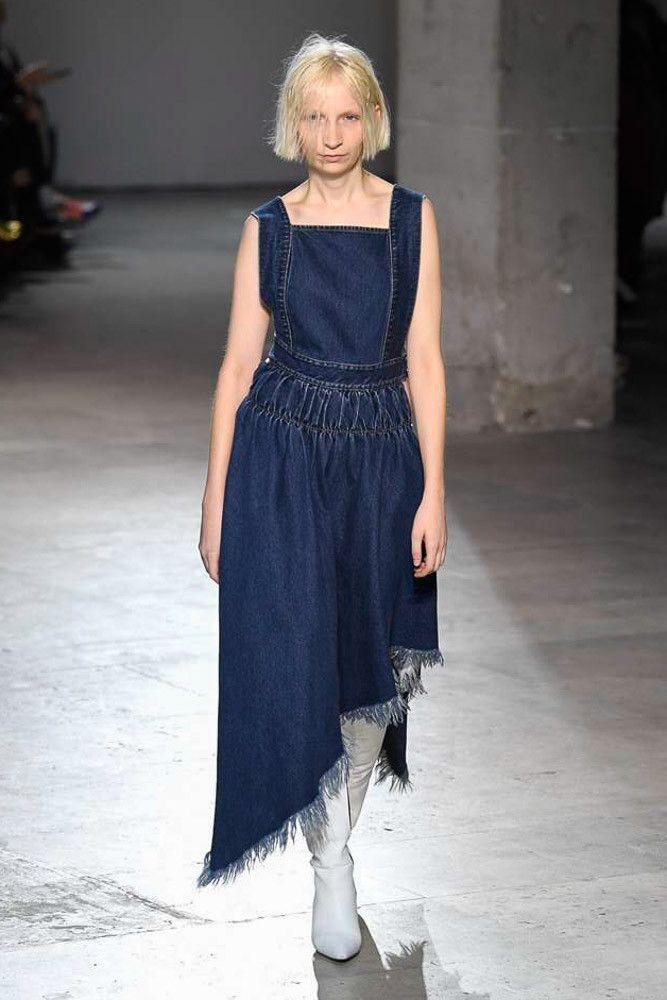 Модное платье 2019 весна-лето Marques\'Almeida