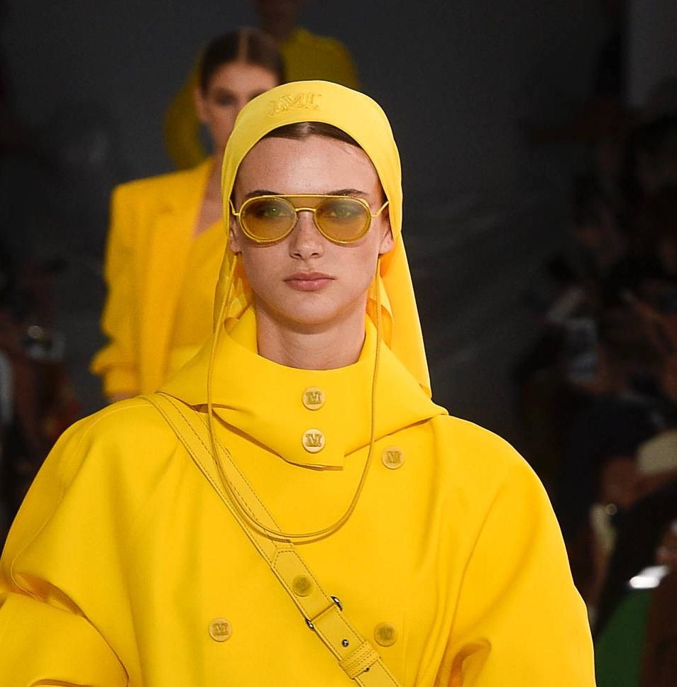 Модные женские головные уборы 2019 года. Max Mara