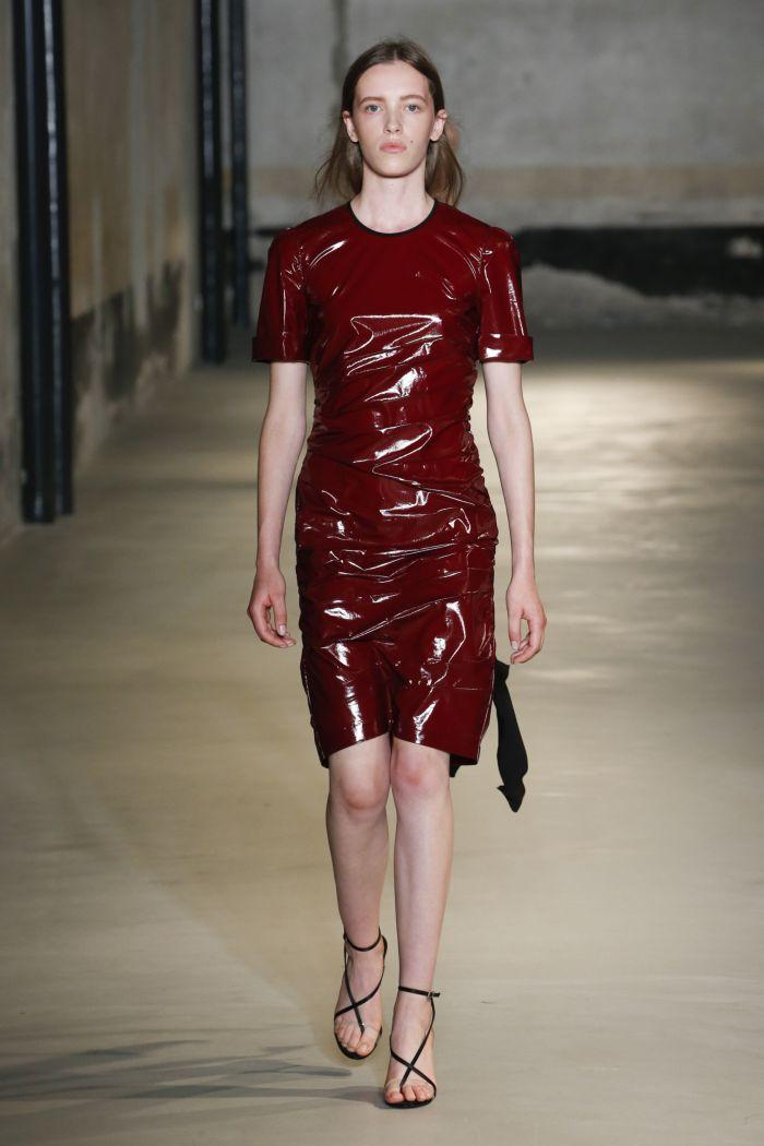 Модное платье 2019 весна-лето No. 21