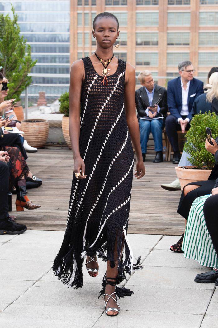 Модное платье 2019 весна-лето Oscar de la Renta