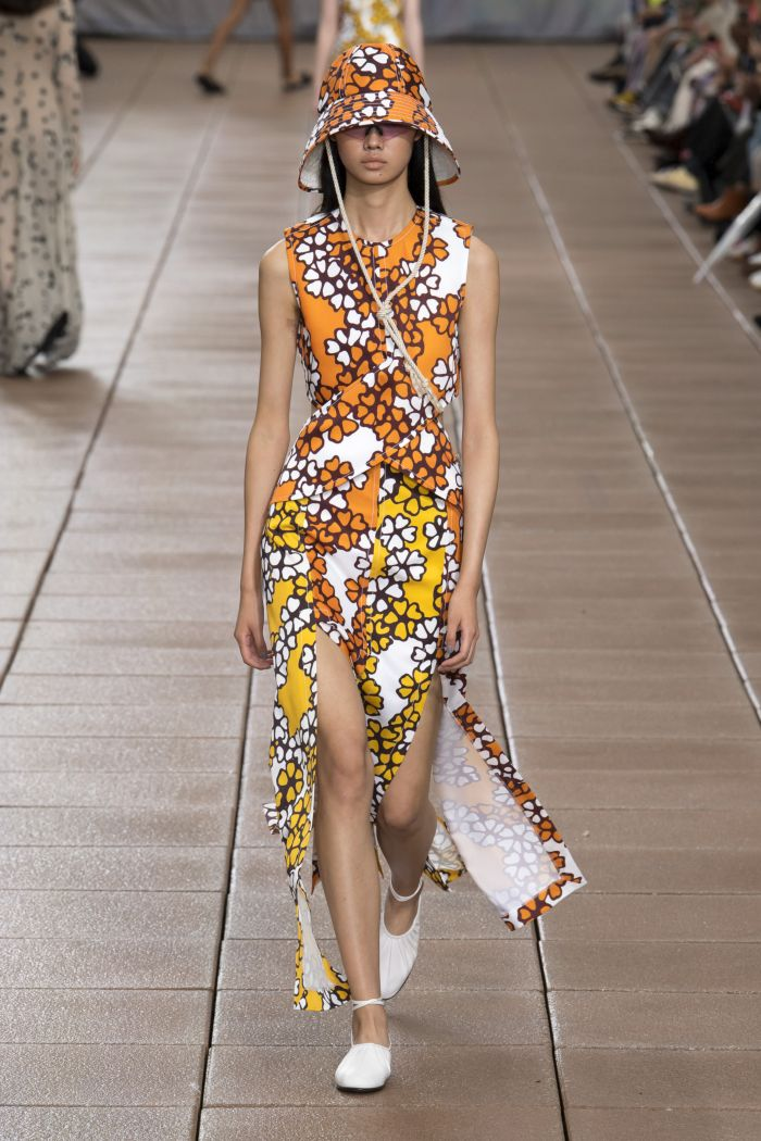 Модное платье 2019 весна-лето Phillip Lim