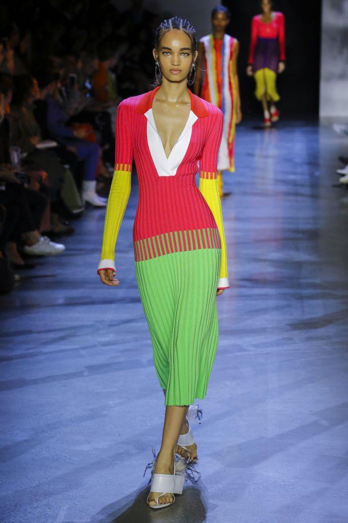Модное платье 2019 весна-лето Prabal Gurung