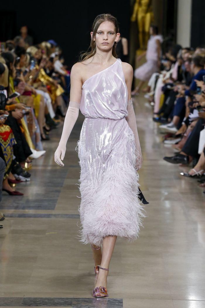 Модное платье 2019 весна-лето Rochas