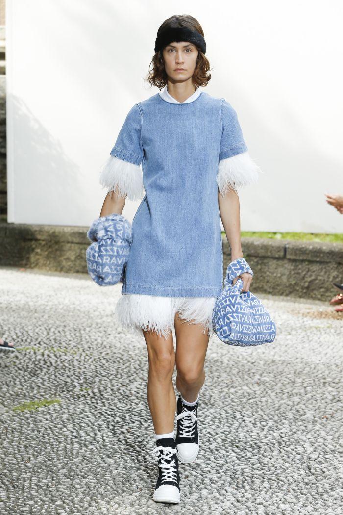 Модное платье 2019 весна-лето Simonetta Ravizza
