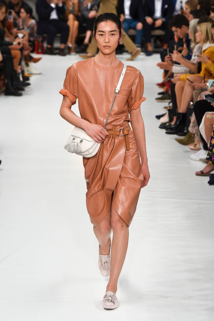 Модное платье 2019 весна-лето Tod\\'s