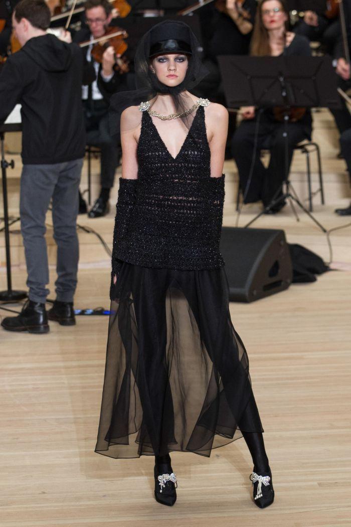 Юбки из фатина Chanel
