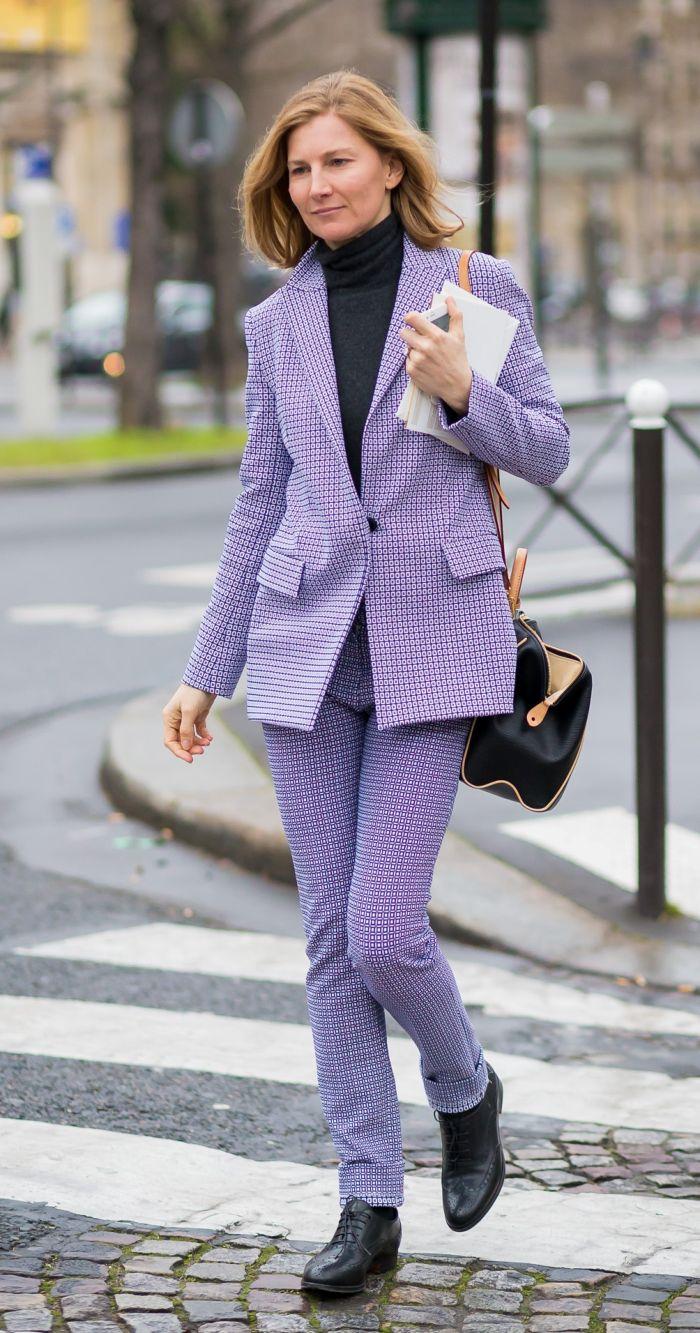 Сиреневый пиджак