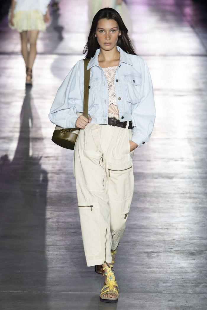 Модные оттенки джинсов Alberta Ferretti