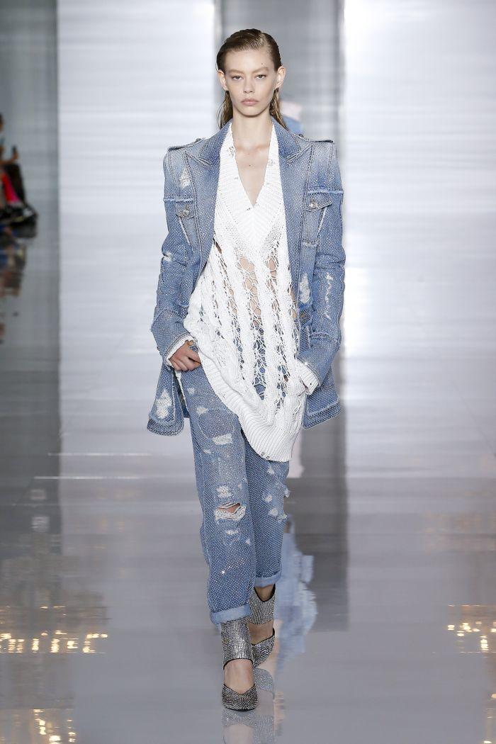 Модные джинсы 2019. Коллекция Balmain