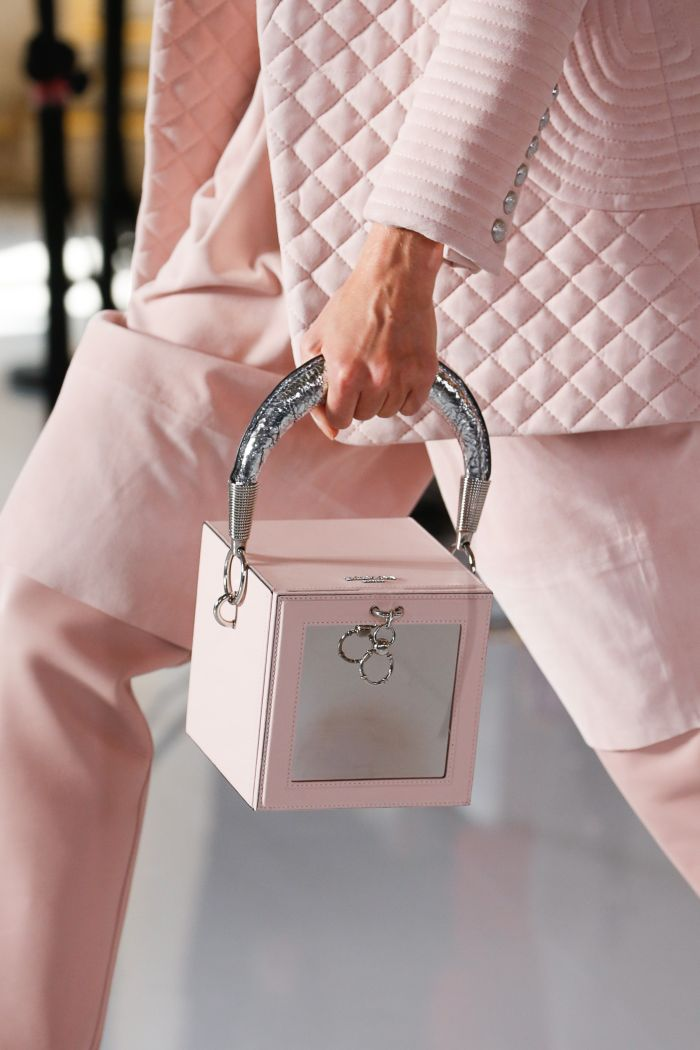 Модная женская сумка 2019 из коллекции Balmain