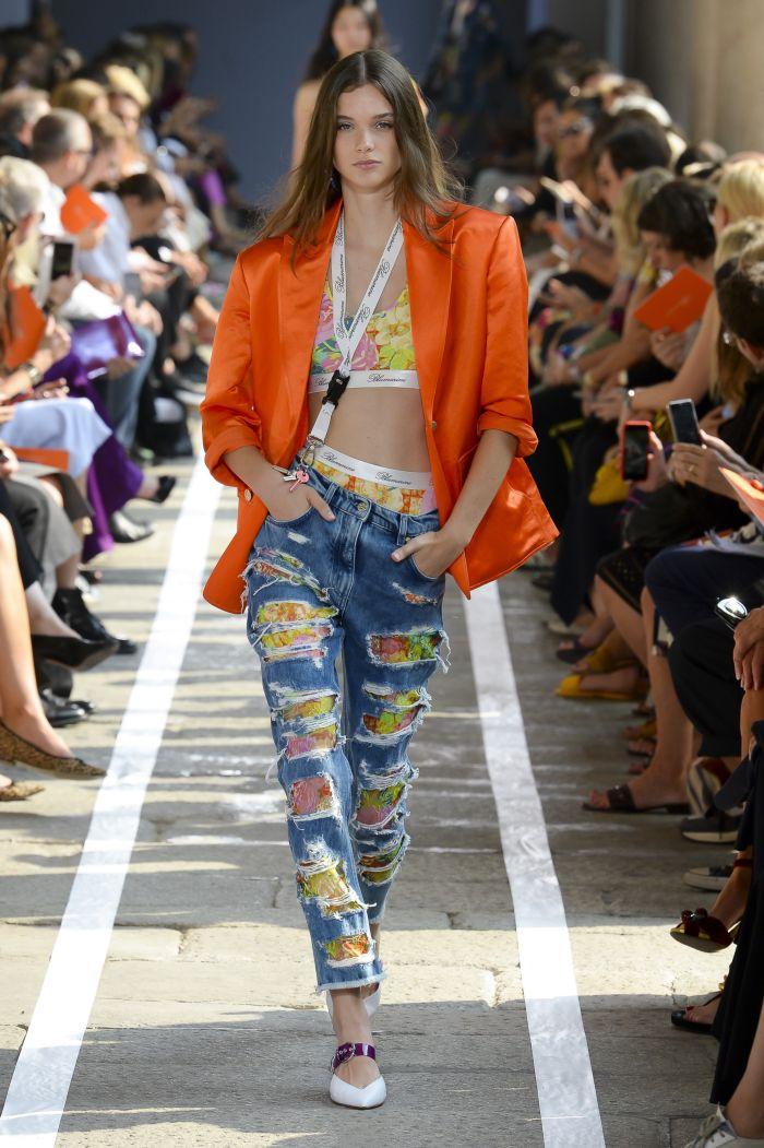 Модные джинсы 2019. Коллекция Blumarine