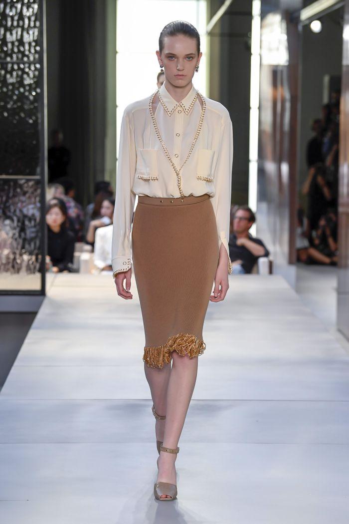 Модные юбки Burberry