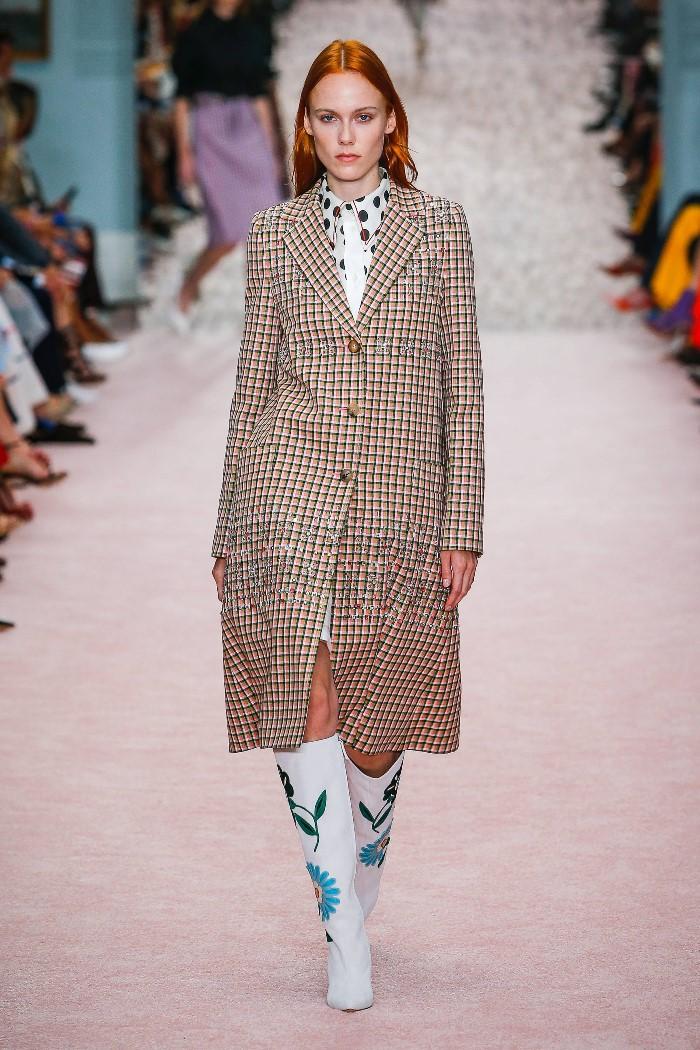 Модное пальто 2019. Коллекция Carolina Herrera