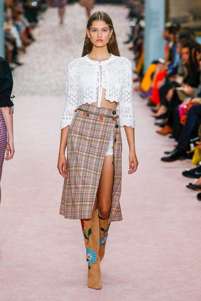 Модные юбки Carolina Herrera