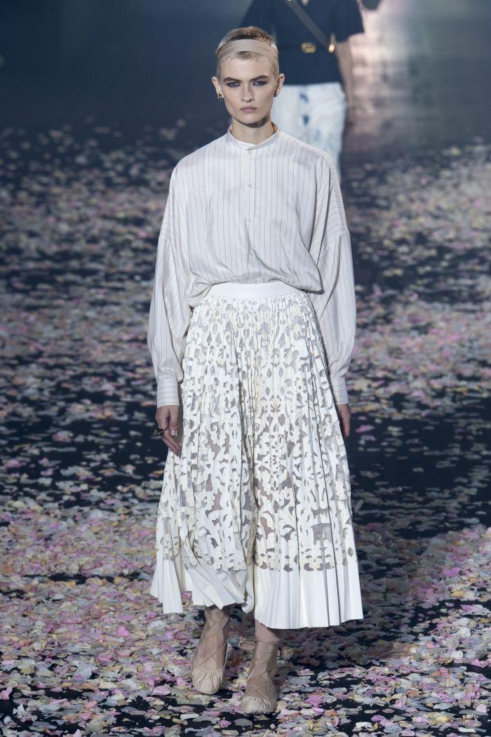 Модные юбки Christian Dior