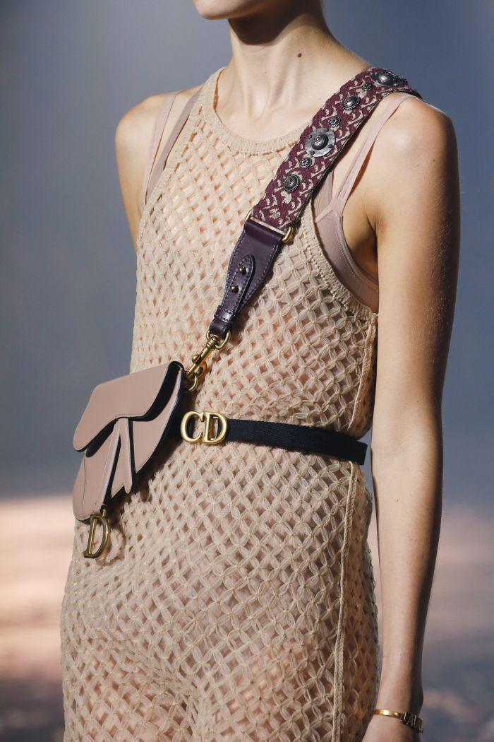 Модная женская сумка 2019 из коллекции Christian Dior