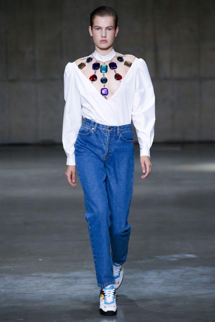 Модные джинсы 2019. Коллекция Christopher Kane