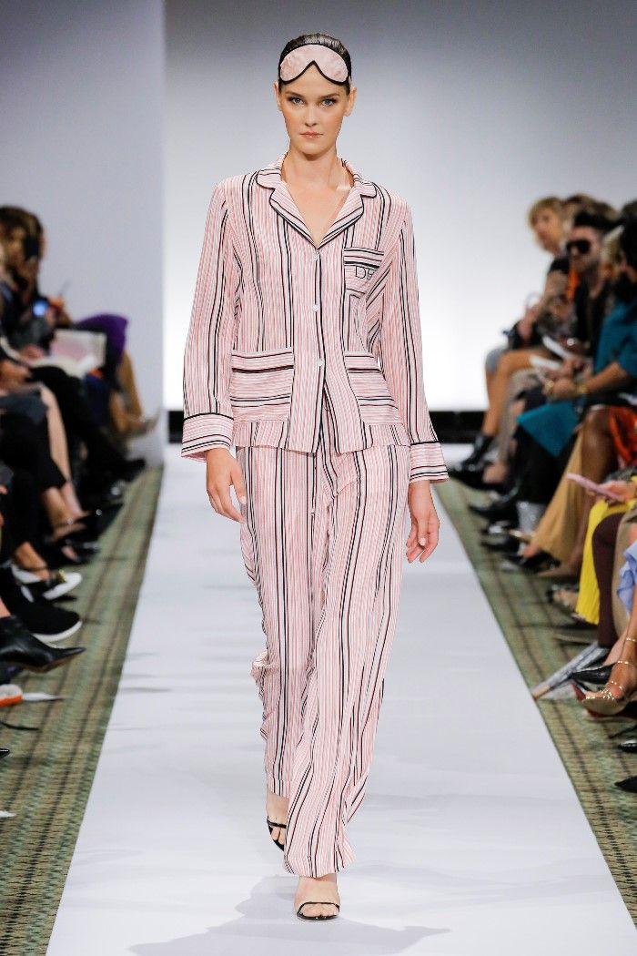 Модные брюки весна-лето 2019 из коллекции Dennis Basso