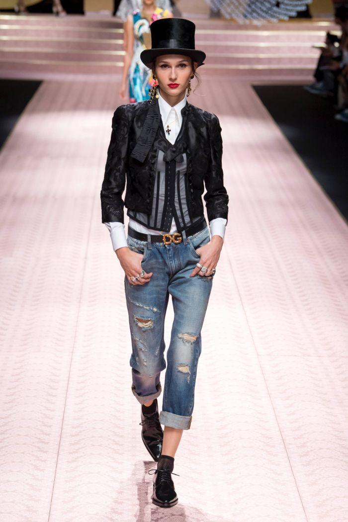 Модные джинсы 2019. Коллекция Dolce & Gabbana