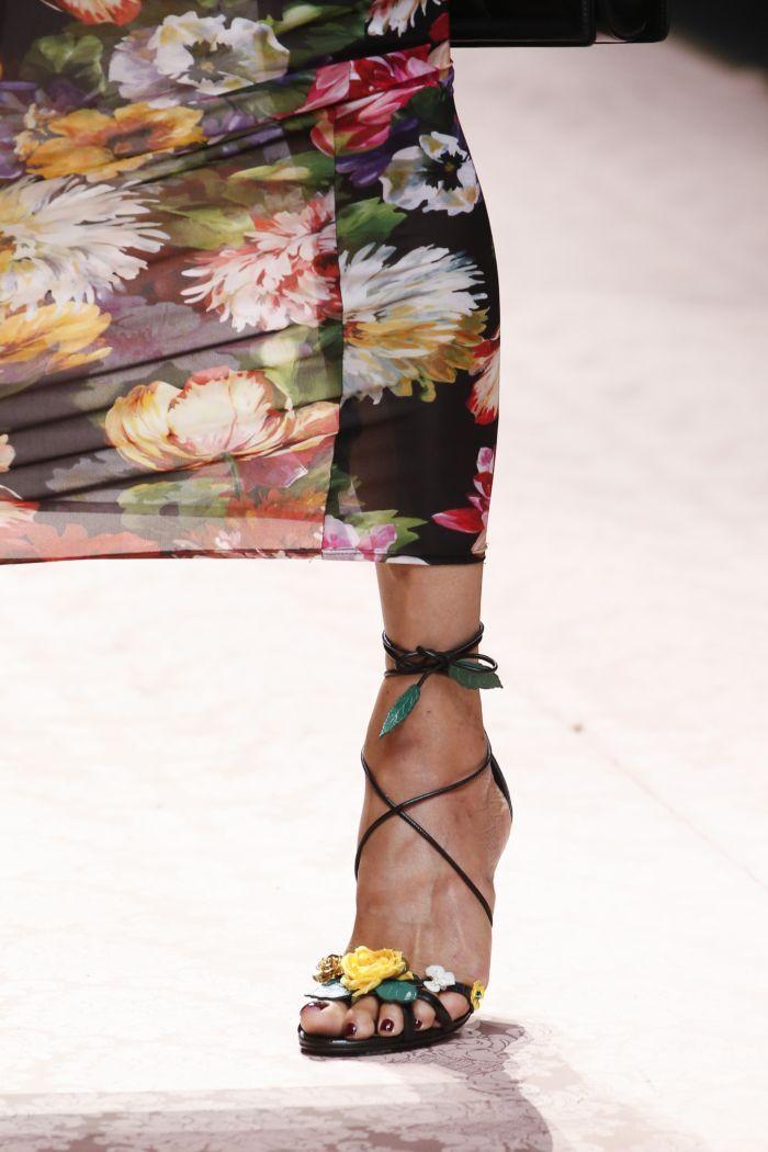Модные босоножки Dolce & Gabbana