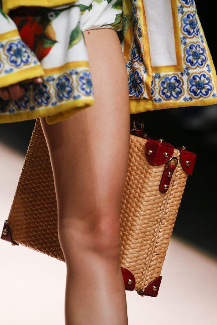 Модная женская сумка 2019 из коллекции Dolce & Gabbana