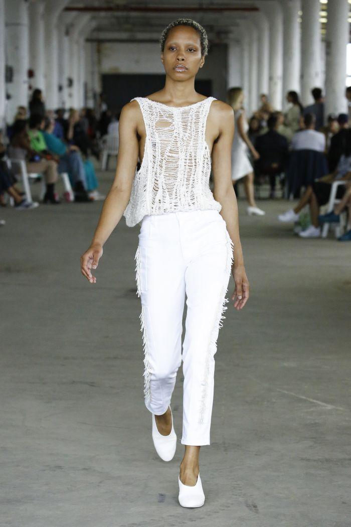 Модные джинсы 2019. Коллекция Eckhaus Latta