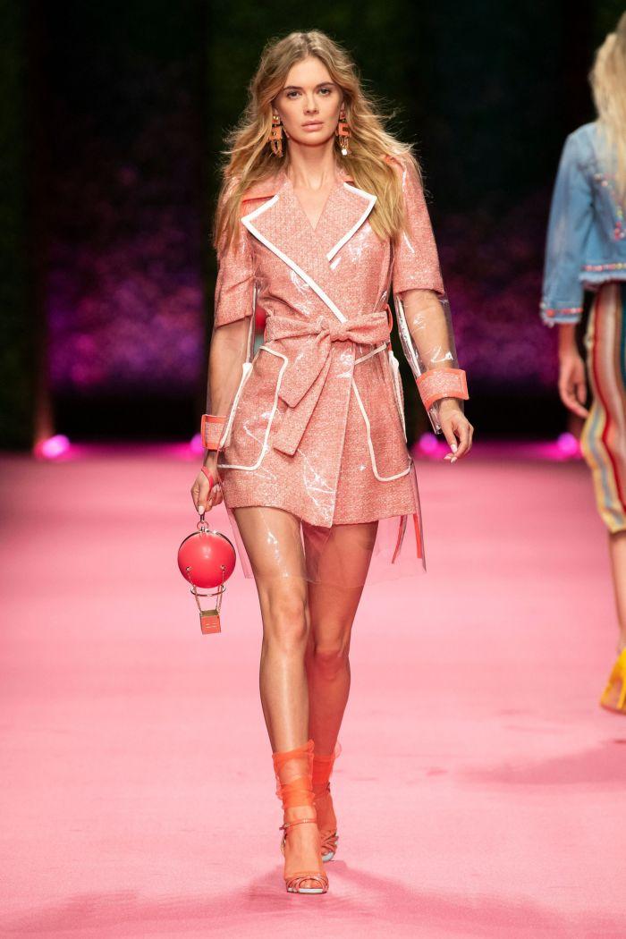 Модный плащ Elisabetta Franchi