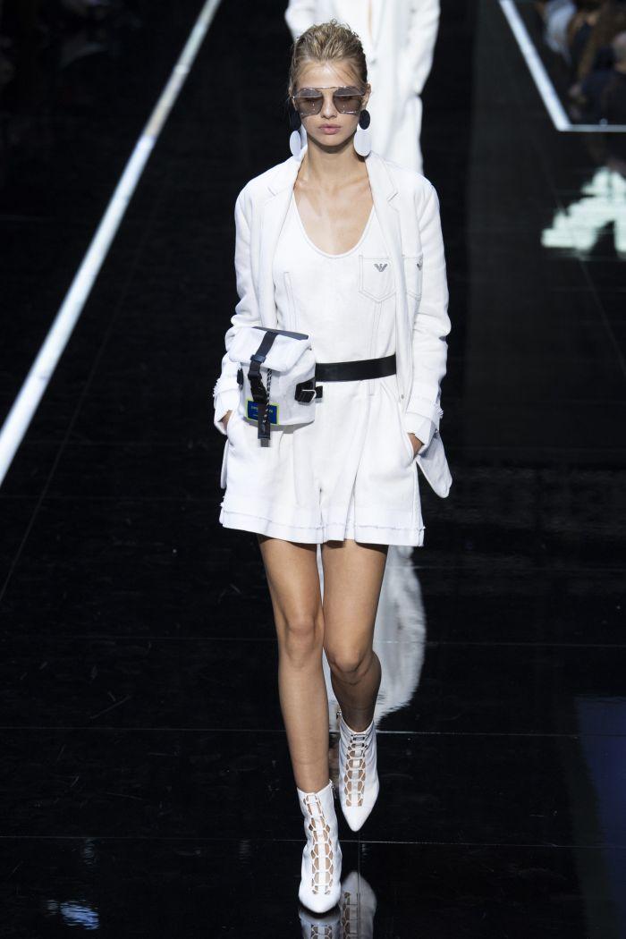 Модная женская сумка 2019 из коллекции Emporio Armani