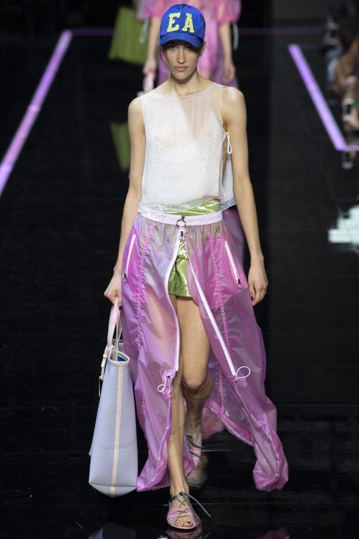 Модные юбки Emporio Armani