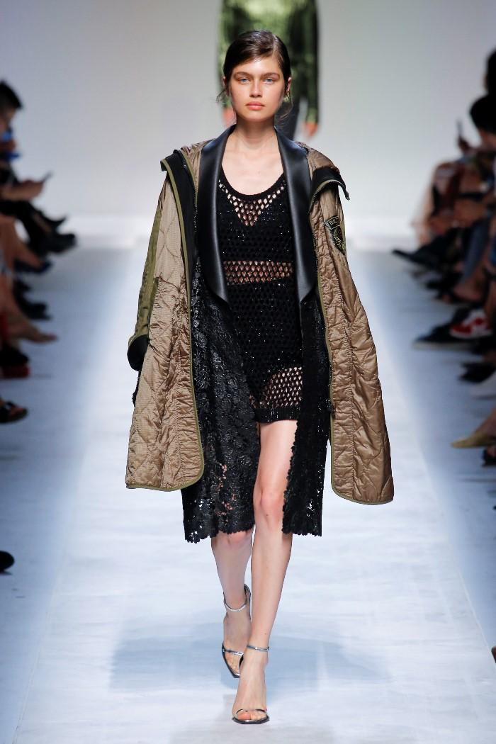 Модное пальто 2019. Коллекция Ermanno Scervino