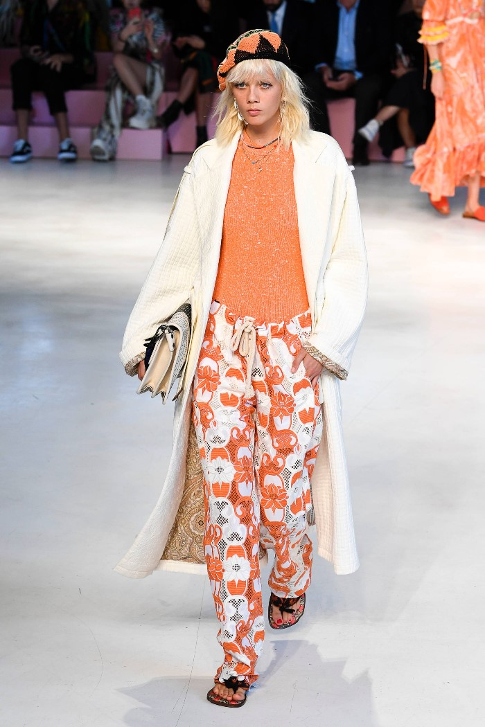 Модное пальто 2019. Коллекция Etro