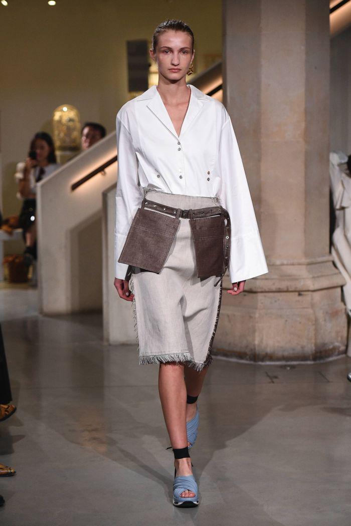 Модные юбки Eudon Choi