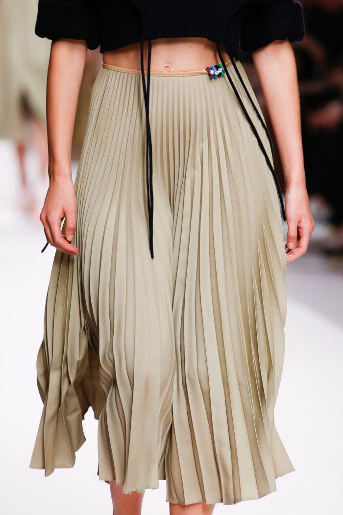 Модные юбки Fendi