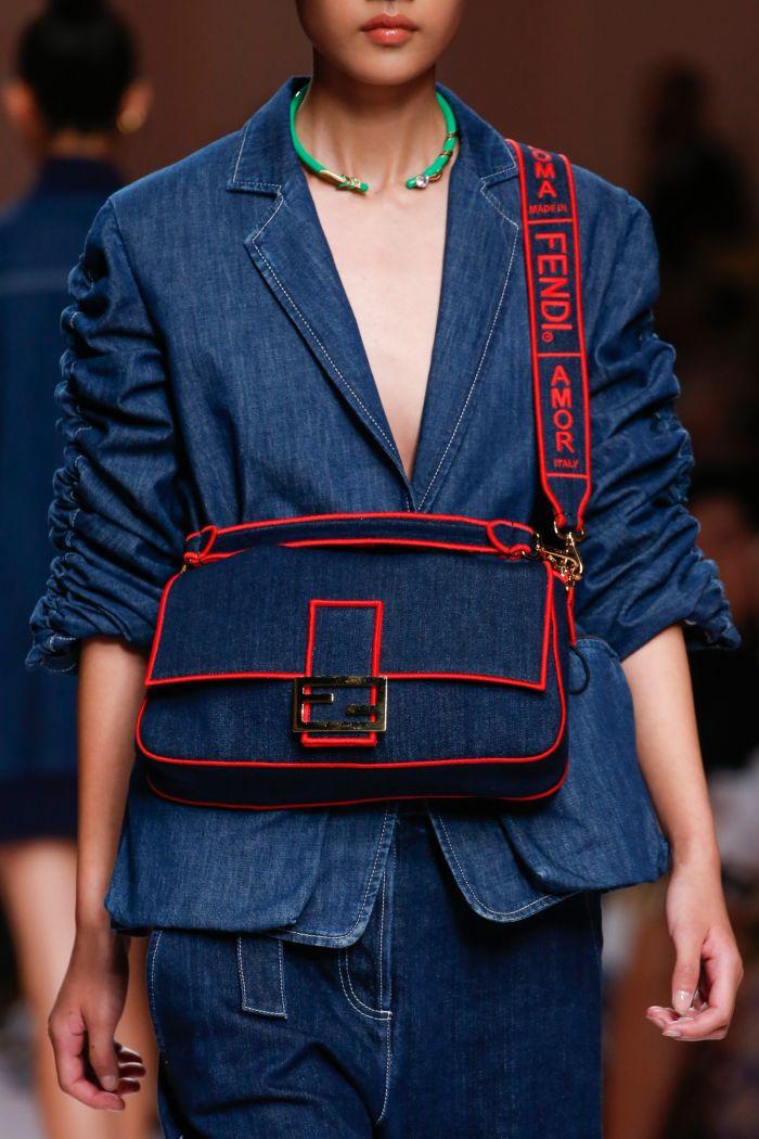 Модная женская сумка 2019 из коллекции Fendi